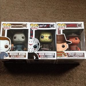 POP Funko horror collection